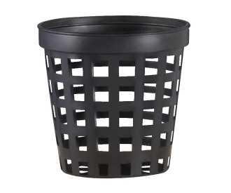 Pot panier noir 5Cm