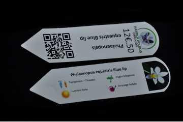 Étiquettes d'identification personnalisées