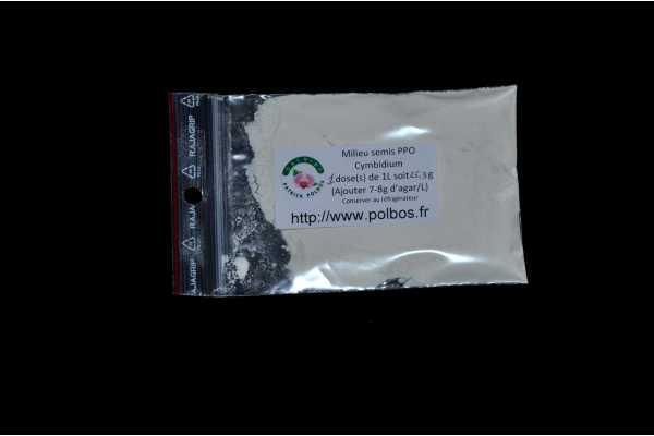 Milieu de semis PPO pour cymbidium