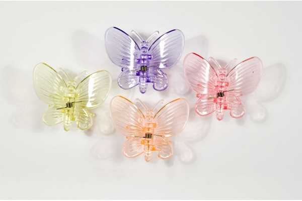 Clip tuteur papillon