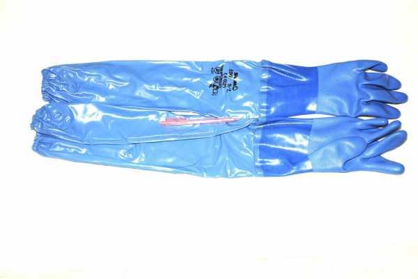 Guantes puño largo para glovebox